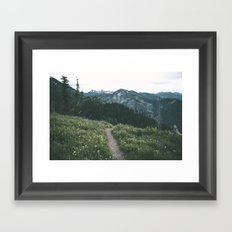 Happy Trails III Framed Art Print