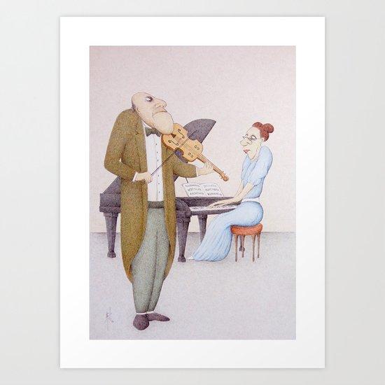 Chamber Music (2014 Version) Art Print