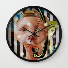 Climate Change Party - Your Delegate Mr. Eco Nomyo Beying Wall Clock