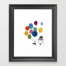 nobody made balloons the way Edward did Framed Art Print