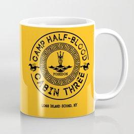 Percy Jackson - Camp Half-Blood - Cabin Three - Poseidon Coffee Mug