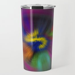 color circulo Travel Mug