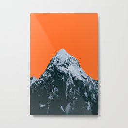 MH Orange Metal Print