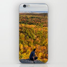 Looking at Autumn iPhone Skin