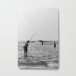 Barrel Hooker Metal Print
