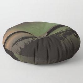 Elk Island National Park Floor Pillow