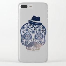 Mr. Sugar Skull Clear iPhone Case