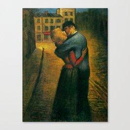 """Théophile Steinlen """"The kiss"""" (2) Canvas Print"""