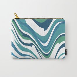 Stripe warped Carry-All Pouch
