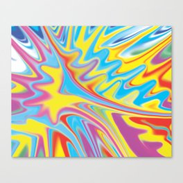 Force of Splash   Canvas Print