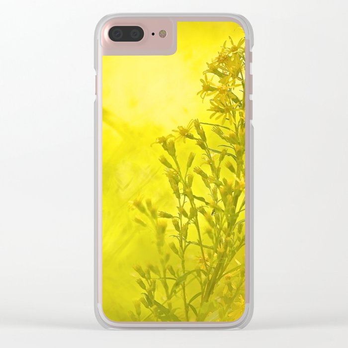 Summer meadow - #society6 #buyart Clear iPhone Case