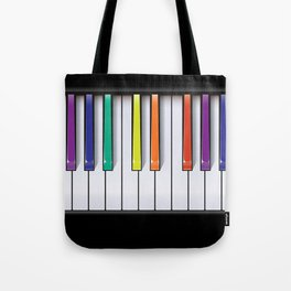 Colour Your Music Tote Bag