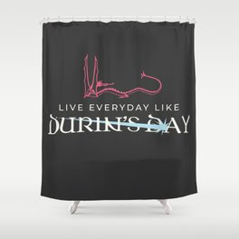 Durin's Day Shower Curtain