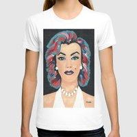 marilyn T-shirts featuring Marilyn by Sartoris ART