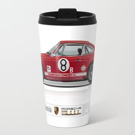 1968 Porsche 911L Factory Race Car Travel Mug