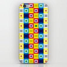 Squares Pattern iPhone & iPod Skin