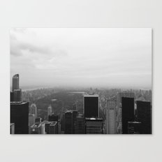 New York in Black and White Canvas Print