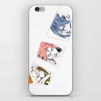 sasuke iPhone & iPod Skins featuring Naruto, Sakura, Sasuke. 15 YEARS by Mendivant