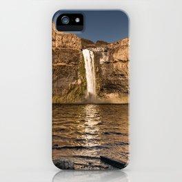 Desert Waterfall - Summer In Palouse iPhone Case