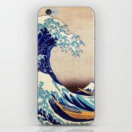 The Great Wave Off Kanagawa iPhone Skin
