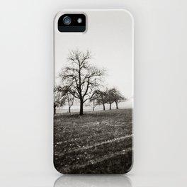 { skeleton trees } iPhone Case