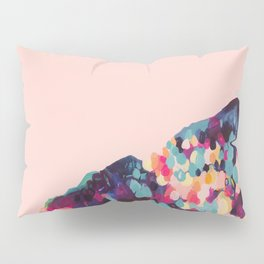 Push The Sky - Abstract Painting by Jen Sievers Pillow Sham