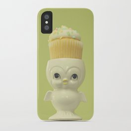 Cupcake Owl iPhone Case