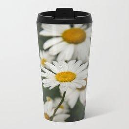 garden daisy Metal Travel Mug
