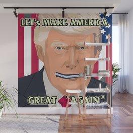 Funny Trump Slogan Design | Make America Great Again Wall Mural
