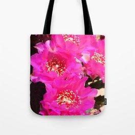 Beavertail Cactus in Bloom - III Tote Bag