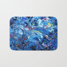 Simply Blue Bath Mat