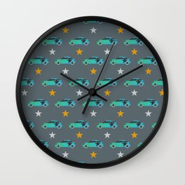 MINI 'Star Pattern' Collection Wall Clock