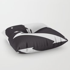 The Black Collection' Hitchcock Movie Floor Pillow