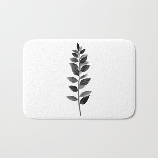 Scanned Nature Bath Mat