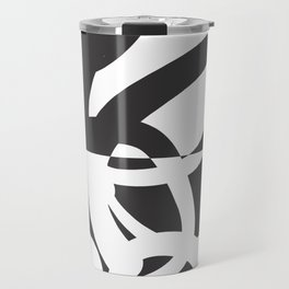 Abstract & Modern Travel Mug