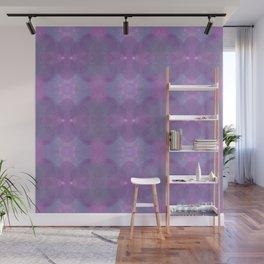 Lavender Pattern Wall Mural