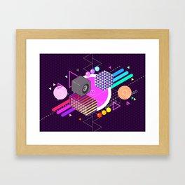Tasty Visuals - Turn Me On Framed Art Print