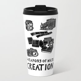 Weapons Of Mass Creation - Photography (clean) Metal Travel Mug