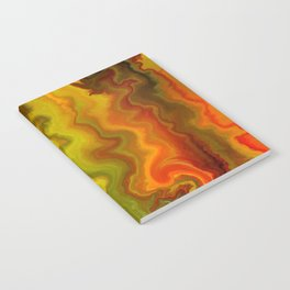 Colorful Thoughts by rafi talby Notebook