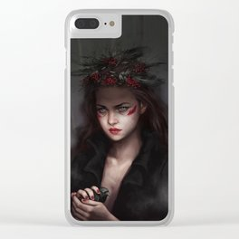 Falling from high places Clear iPhone Case