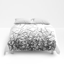 Bobby Pin Pile Up Comforters