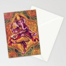 Ganesha (Color Variation 2) Stationery Cards
