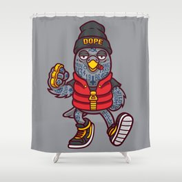Wild scum. Dope bird Shower Curtain