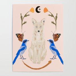 Spirit of California- Nature Mandala Poster