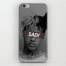 XXXTENTACION SAD! DESIGN iPhone Skin