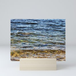 Crystal Clear Water Mini Art Print