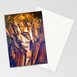 Marcel Duchamp Nude Study Stationery Cards