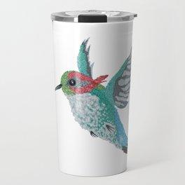 Bee Hummingbird Travel Mug