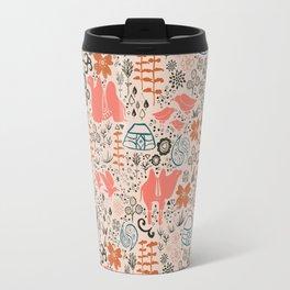 Mongolian Expanse Pattern Travel Mug