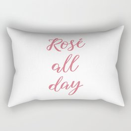 Rose All Day Rectangular Pillow